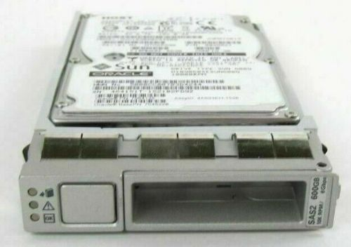 "Oracle Sun 600GB 10k SAS 2.5"" SAS 6Gb/s HDD 7064135 Disk Drive with Caddy"